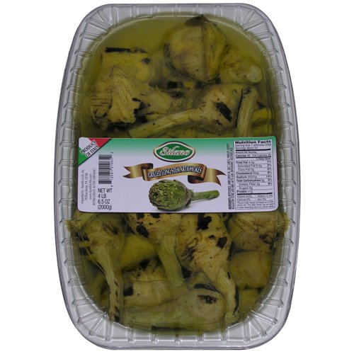 Grilled Packed In Vegetable Oil With Stem Artichoke - 2 x 70.5oz Tray - 8.8 Lb Case by For The Gourmet
