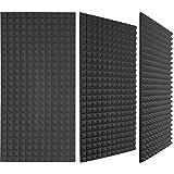 """ZAK Acoustics Pvt Ltd Acoustic Room Treatment - Pyramid Foam Panel, Size: 3 'X 1' X 2"""""""