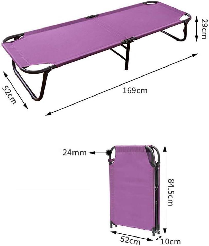 una silla plegable port/átil de verano tumbonas de moda hogar oficina cama de alta resistencia acolchada reclinable transpirable cama de playa al aire libre Muebles de patio
