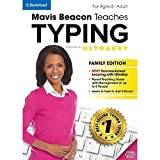 Software : Mavis Beacon Teaches Typing Powered by UltraKey - Family Edition [Online Code]