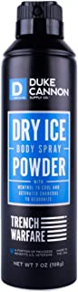 product image for Duke Cannon Supply Co. - Trench Warfare Body Powder, Dry Ice (6 oz) Refreshing Deodorizing Body Powder Providing Protection to Relieve and Prevent Skin Discomfort