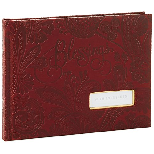 Traditional Guest Book - Hallmark Leather Paisley Blessings Guest Book Guest Books