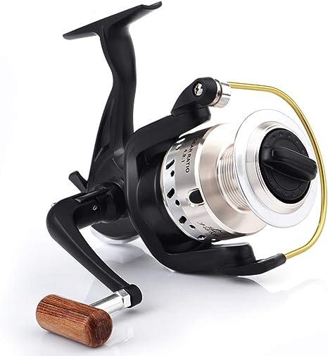 L.X.REEL Fiber Drag Spinning Carrete De Pesca con Carrete De ...