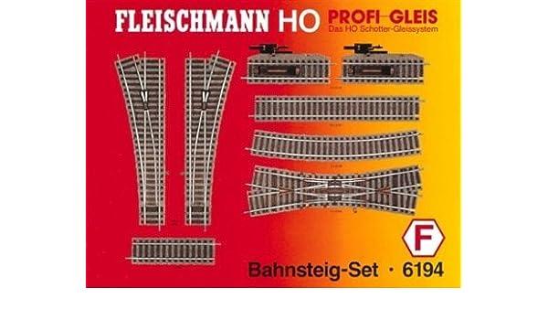 Fleischmann 6194 Bahnsteig Set H0