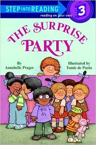 Ilmainen ladattava e-kirja Kindle The Surprise Party (Step into Reading) 0394895967 by Annabelle Prager RTF