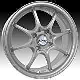 honda civic 1997 rims - Konig Helium 15x6.5 Silver Wheel / Rim 4x100 with a 40mm Offset and a 73.10 Hub Bore. Partnumber 72S-HE65D0440S