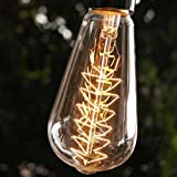 Marical ST64 Edison Filament Bulb Christmas Tree