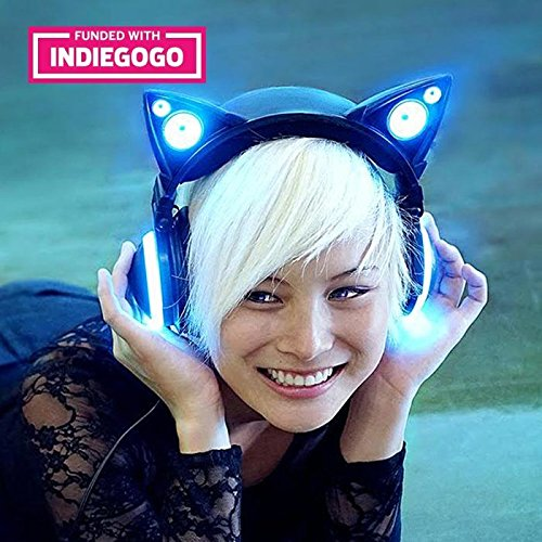 Wired-Cat-Ear-Headphones