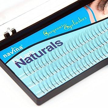 6e4d5d35a9c Amazon.com : Navina 3D D Curl 0.1 Thickness False Eyelash (8mm) : Beauty