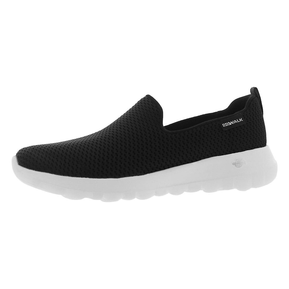 Skechers Women's GO Walk Joy Slip On Walking Shoe Blk/Wht 10 M US