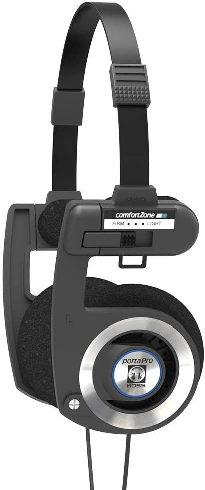 Amazon.com: Koss Porta Pro Black On Ear Headphones with Case Black: Electronics