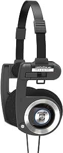 Koss Porta Pro Black On Ear Headphones with Case Black