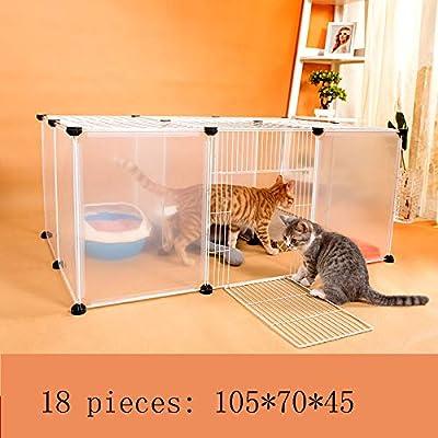 WENFF DIY Jaula para Gatos Casa para Gatos Villa Combinación Libre ...