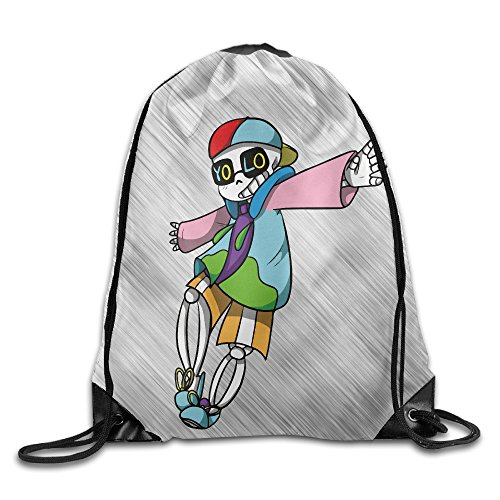 Price comparison product image Cool Hip Hop Sans Undertale Sport Backpack Drawstring Print Bag