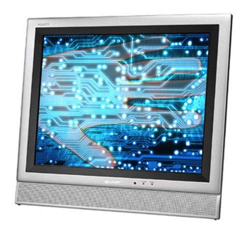 (Sharp LC-15E1U 15-Inch AQUOS LCD Flat-Panel TV, Silver)