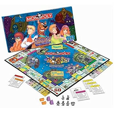 USAOPOLY Scooby Doo Monopoly, Fright Fest Edition: Toys & Games