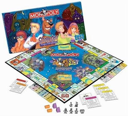 Scooby Doo Monopoly, Fright Fest Edition by USAopoly: Amazon.es: Juguetes y juegos