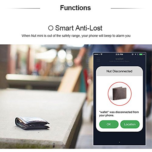 Decdeal BT Anti-lost Tracker, GPS Smart Tag Alarm Locator for Kids, Phone, Key, Wallet, Gps Tracker Device for iOS/Android by Decdeal (Image #3)