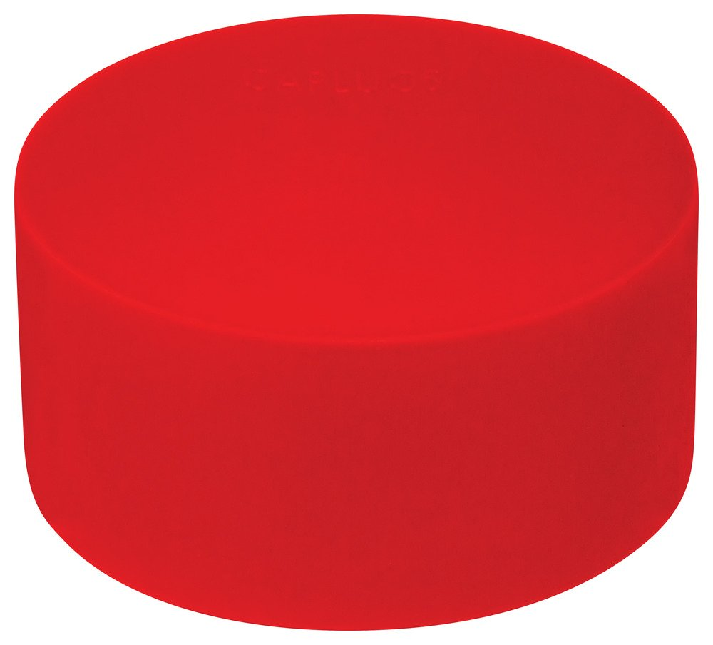 Caplugs Q201SQ3 Plastic Sleeve Cap for Tube Ends Pack of 700 PE-LD SC-201-S Red Cap ID .875 Length .62