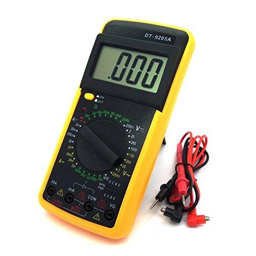 Digital Multimeter DT9205A Voltmeter Amperemeter Ohmmeter Messgerät