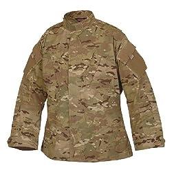 Tru-Spec Tactical Response Shirt, Multicam NYCO, Small, Short