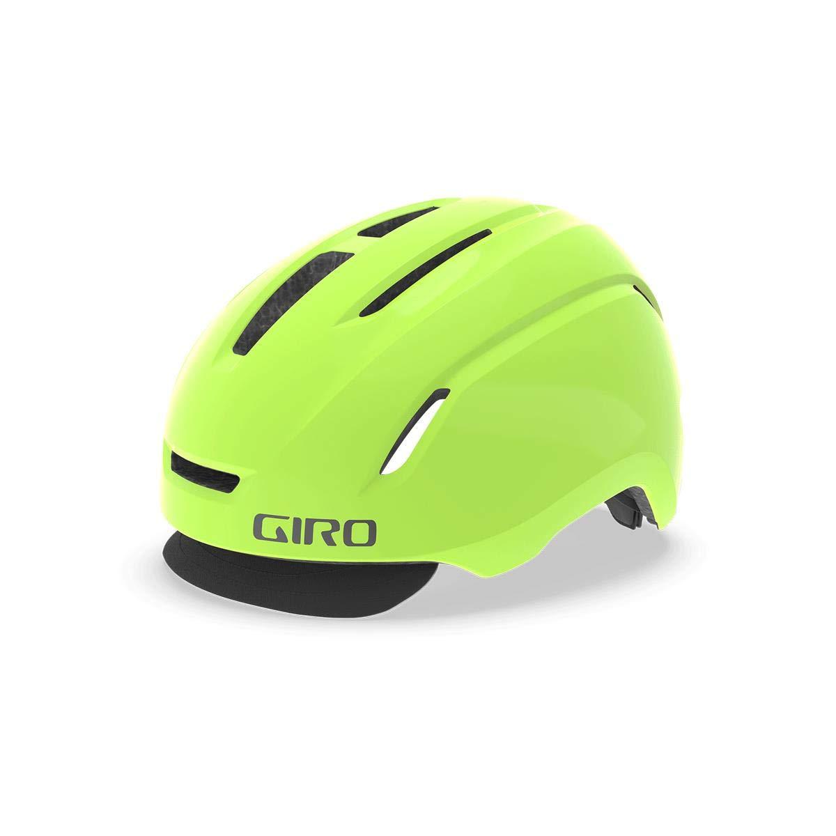 Giro Caden LED City Fahrrad Helm gelb 2019