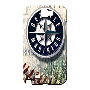 samsung note 2 Shatterproof Back pictures cell phone carrying shells seattle mariners mlb baseball