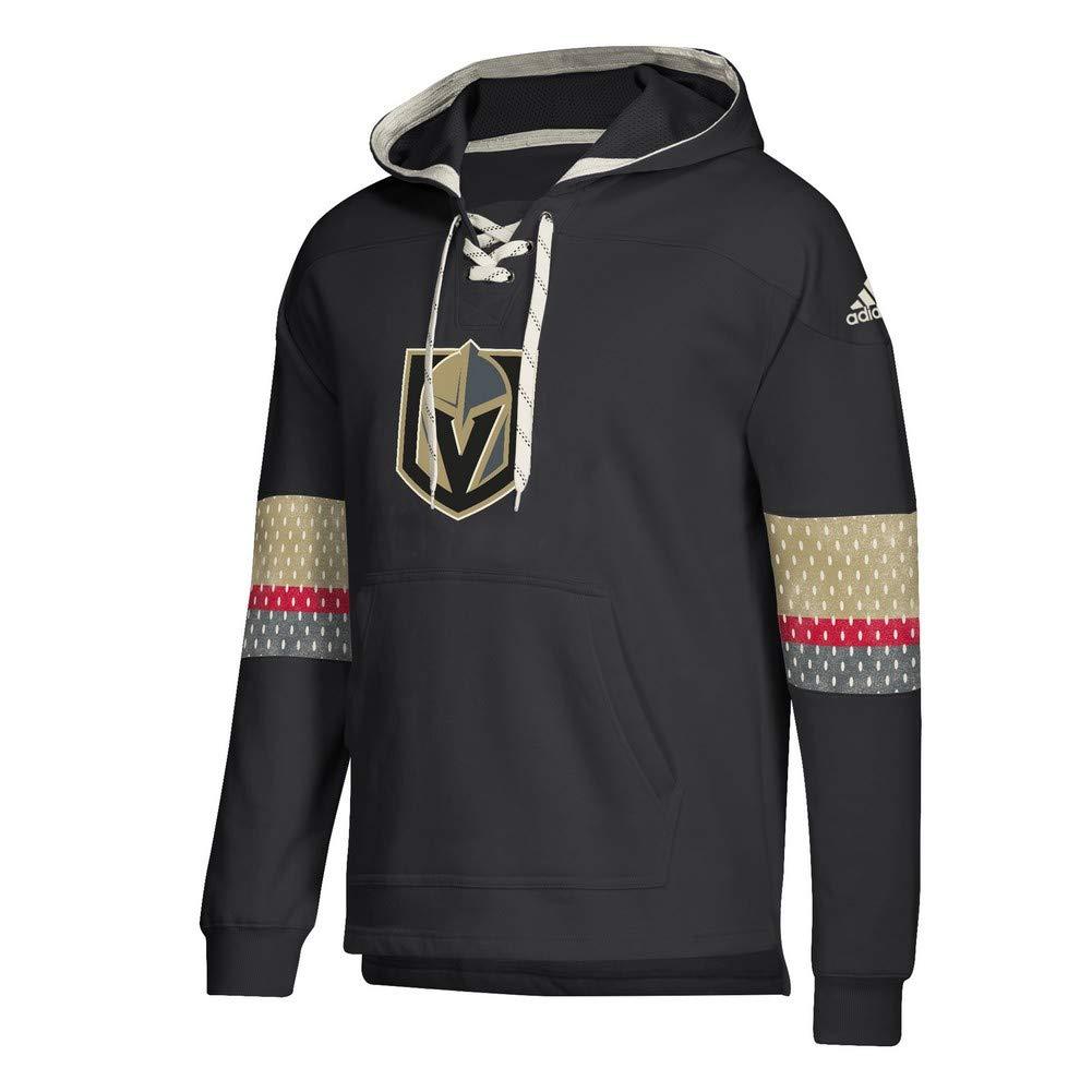 adidas Vegas Golden Knights Vintage NHL Jersey Hoodie Schwarz