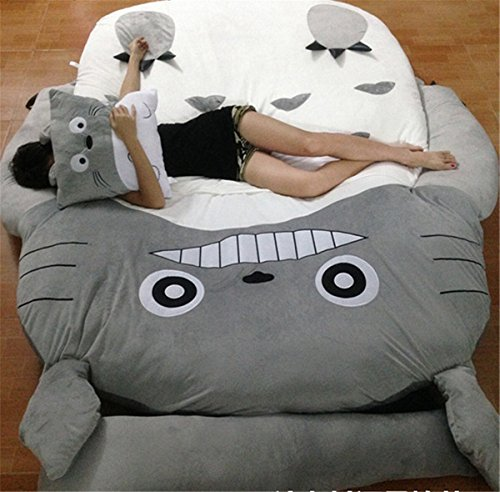 HOT SALE Children's and Adult Totoro Design Big Sofa Totoro Bed Mattress Sleeping Bag Mattress by VU ROUL