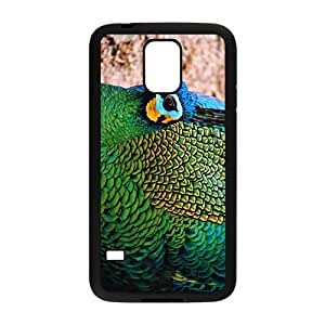 The Beautiful Peacock Hight Quality Plastic Case for Samsung Galaxy S5 by runtopwell
