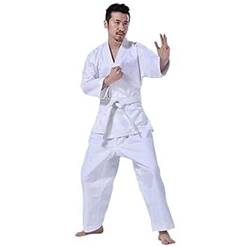 GHKWXUE Karate Ropa/Traje de Entrenamiento de Manga Larga ...