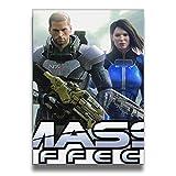 WUBANG Mass Effect Art Print Wall Picture