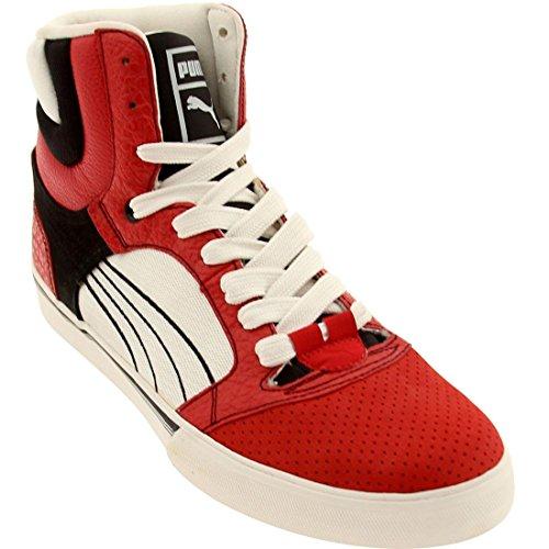 Puma Post Up Hi Mens Casual Shoes Red Q55jBcgjT