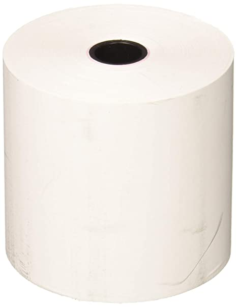 FHS Retail Thermal Receipt Paper, 2 25 Inches x 165 Feet Roll, 6 per Pack