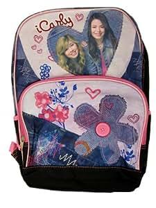 """I Carly Girls School Backpack, Carly & Sam 16"""" Pink"""