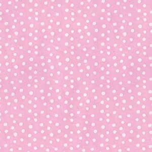 Entertaining with Caspari Continuous Gift Wrapping Paper, Small Dots Pink, 5-Feet, 1-Roll