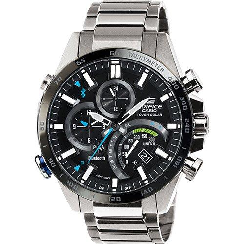 860863c571f8 Casio Reloj Análogo clásico para Hombre de Cuarzo con Correa en Acero  Inoxidable EQB-501XDB-1AER  Amazon.es  Relojes