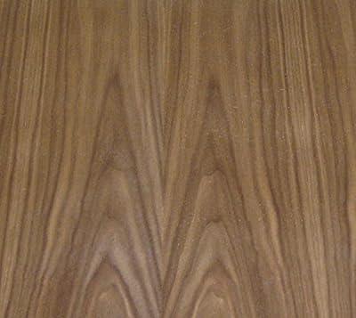 """Walnut wood veneer 48""""x 24"""" on paper backer (4' x 2' x 1/40"""") """"A"""" grade quality"""