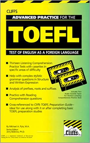 Cliffs Toefl Book
