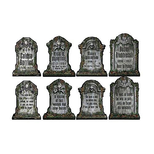 Beistle tombstone cutouts