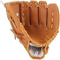 Lawei Guante de béisbol para Deportes de béisbol de Piel sintética para niños Adultos y jóvenes, 3 tamaños - 10.5…