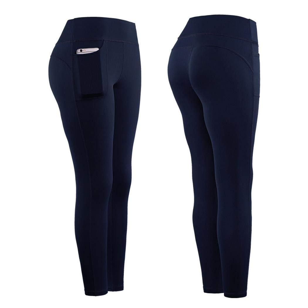 motuna Mujer Yoga Fitness Running Gym Stretch Sports Pockets Leggings Leggings