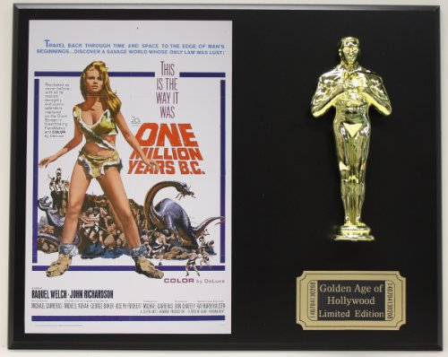 One Million Years Bc, Raquel Welch LTD Edition Oscar Movie Poster Display from Gold Record Outlet