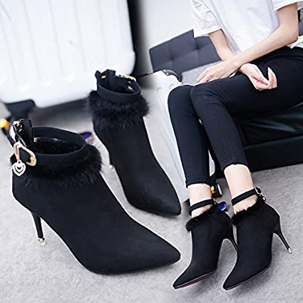 high heel ankle boots canada
