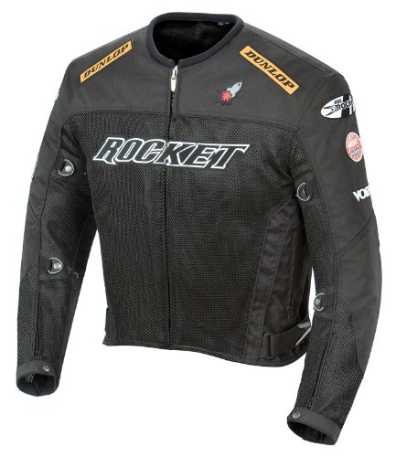 - Joe Rocket UFO 2.0 Mens Mesh Motorcycle Jacket - 5X-Large
