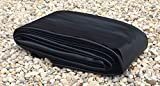 USA Pond Products 6' x 6' Pond Liner - 20-mil Black PVC for Koi Ponds, Streams Fountains and Water Gardens