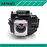 ELPLP58 / V13H010L58 Replacement Lamp for Epson EX3200 EX5200 EX7200 EB-S92 PowerLite1260 1220 1260 S10+ S9 X9
