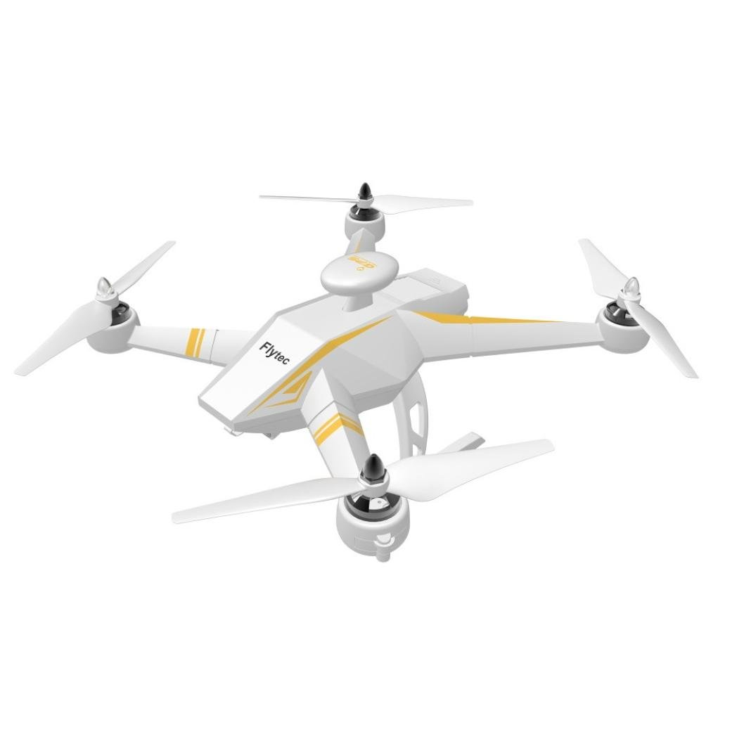 Dreamyth FLYTEC T23 RC Unmanned Aerial Vehicle GPS Auto Follow Height Hold 1080D HD Camcorder 5.8G FPV 6CH 4 Axis 3D Quadcopter (White)