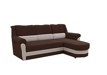 Mb Moebel Kleines Ecksofa Sofa Eckcouch Couch Mit Schlaffunktion Und