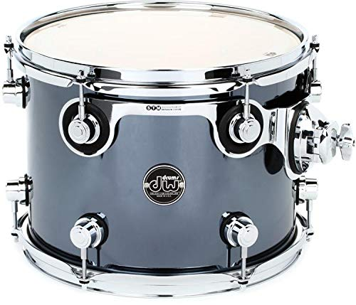 DW Performance Series Mounted Tom - 9 Inches X 12 Inches Chrome Shadow FinishPly